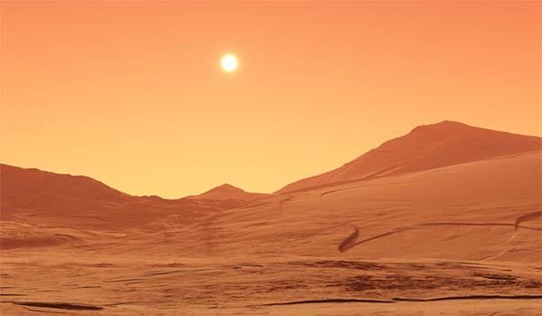 марс красная планета