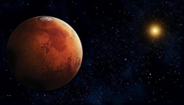 Кем и когда была открыта планета Марс