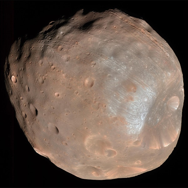 луна марса - фобос
