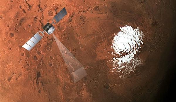зондирование поверхности марса mars-express