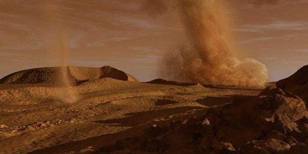 Суровый климат марса марсианские бури