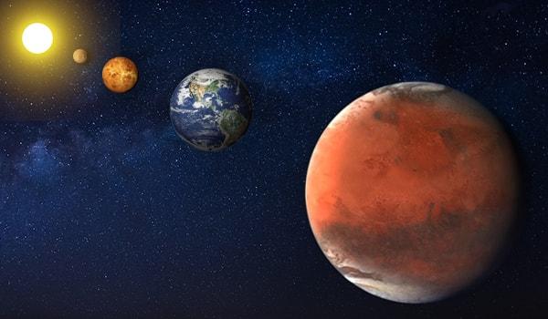 четвертая планета Марс