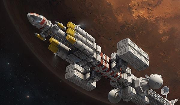сколько длится полет на Марс
