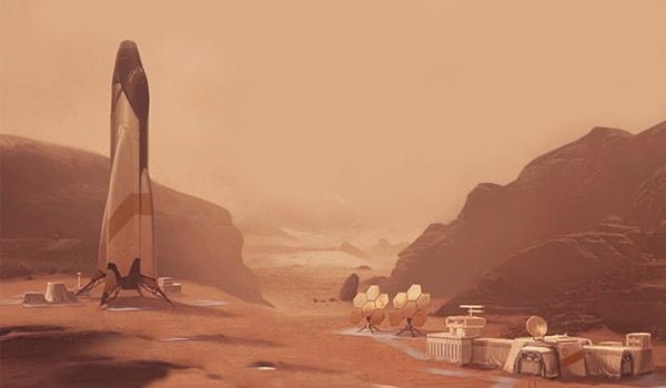 каково жить на марсе