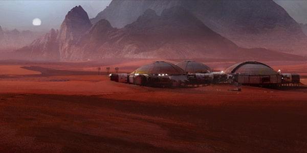 Сколько людей может жить на Марсе
