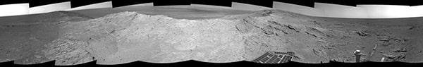 Панорама кратера Индевор