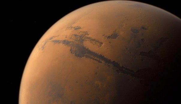 долина маринер на марсе