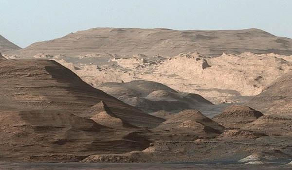 горы вулканы на марсе
