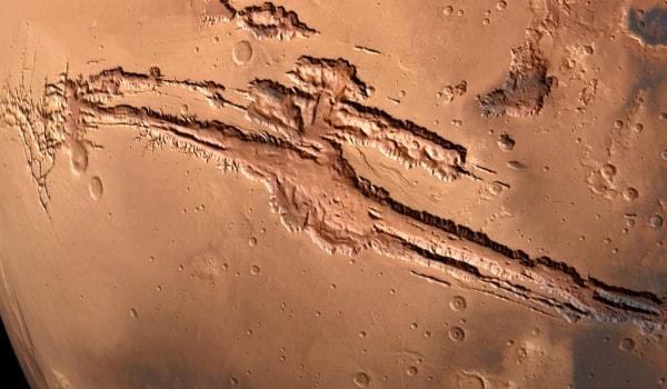 марсианский шрам