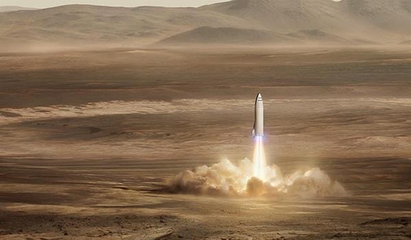 космическая скорость марса