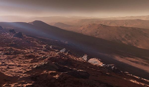 звук ветра на марсе