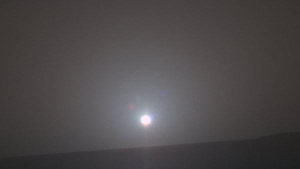 звук восхода солнца на марсе