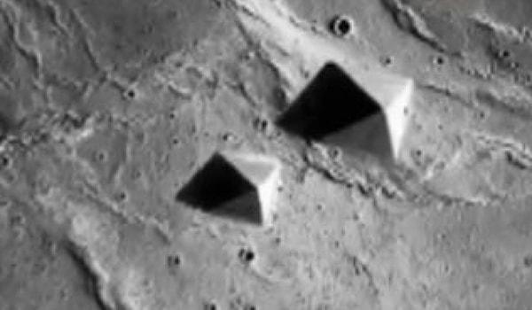 египетские пирамиды на марсе