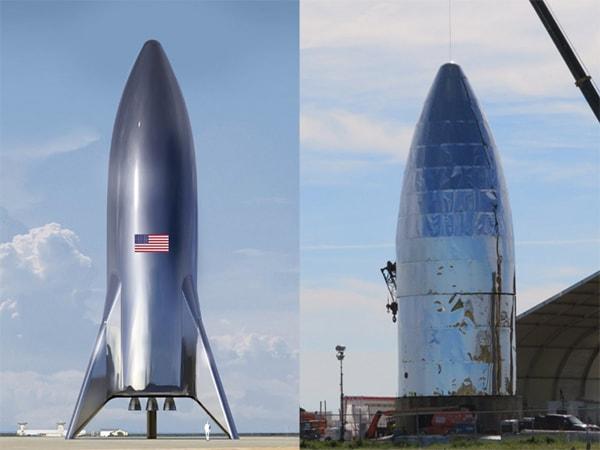 фото корабля starship