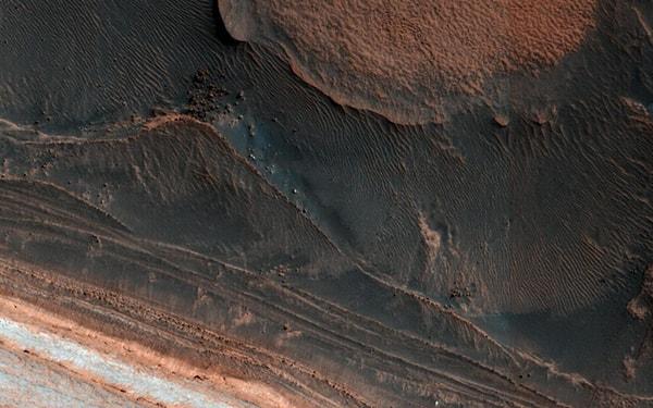 лавина на марсе