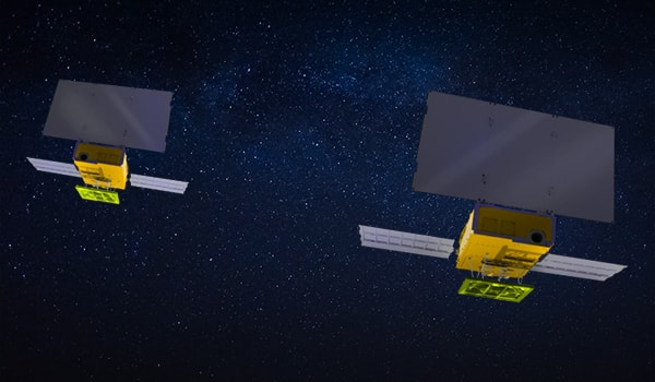 космические спутники Mars Cube One A и B