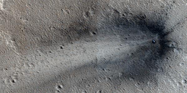 крушение нло на марсе