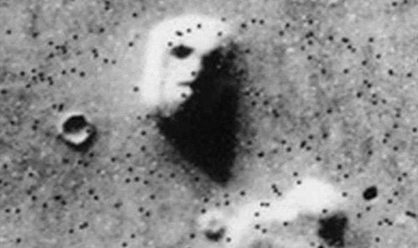 лицо сфинкса на марсе