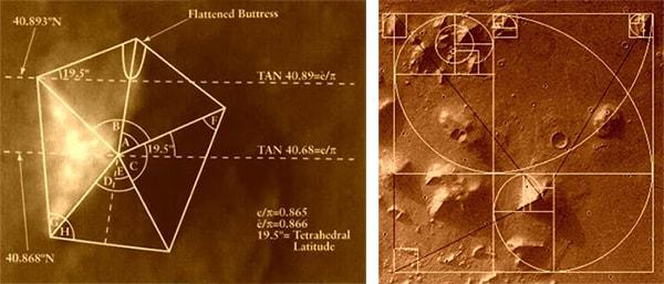 марс пирамиды
