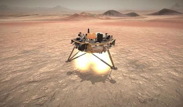 посадка на марс insight