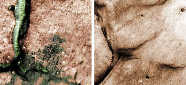 стекслянные трубы на марсе