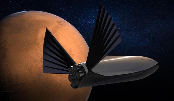 илон маск ракета на марс