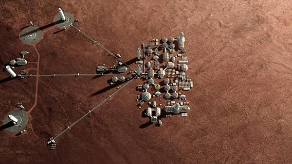 колонизация марса spacex