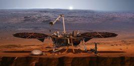 инсайт зонд наса на марсе