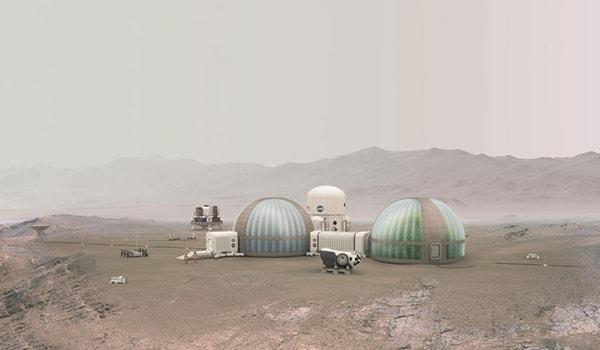 теплицы на марсе