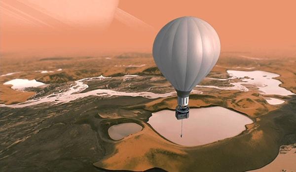 воздушный шар для марса