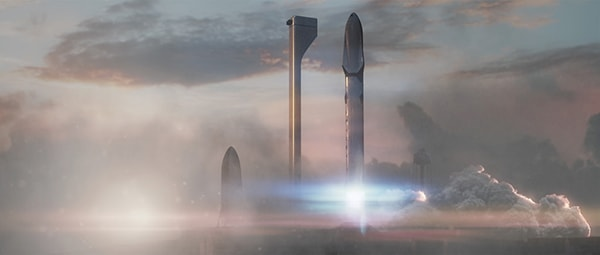 запуск на марс spacex