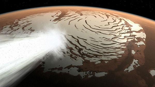 как растопить лед на марсе