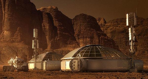 космическая база на марсе