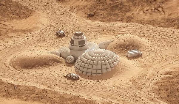 проект марсианской базы