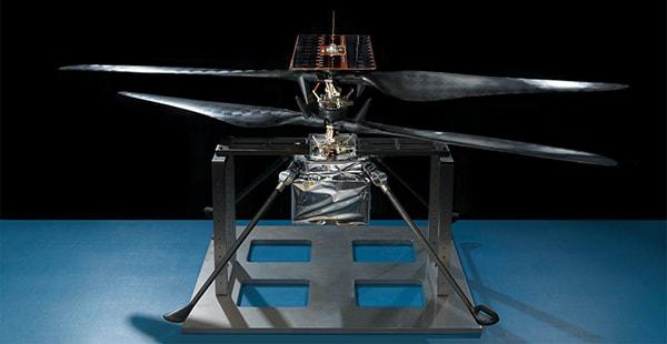 модель вертолета для марса