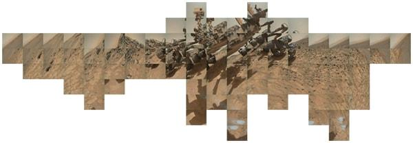 мозаика изображения кьюриосити