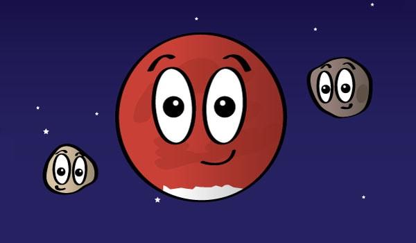 планета марс для детей
