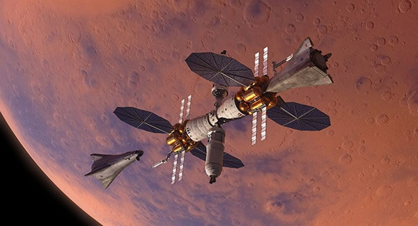 орбитальная станция марса