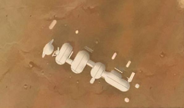 станция альфа на марсе
