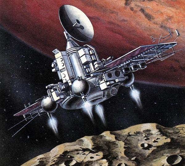автоматическая межпланетная станции фобос-1