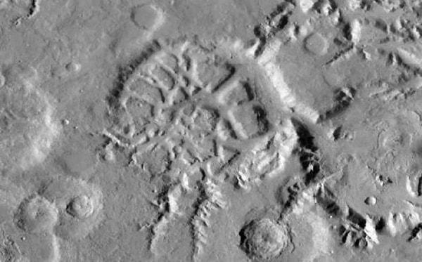 городок на марсе