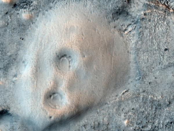 грязевые вулканы марса