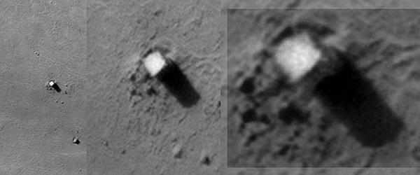 марс аномалии башня