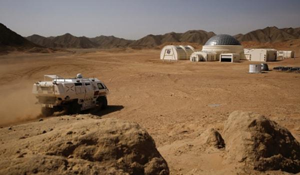 марс база 1 в пустыни гоби