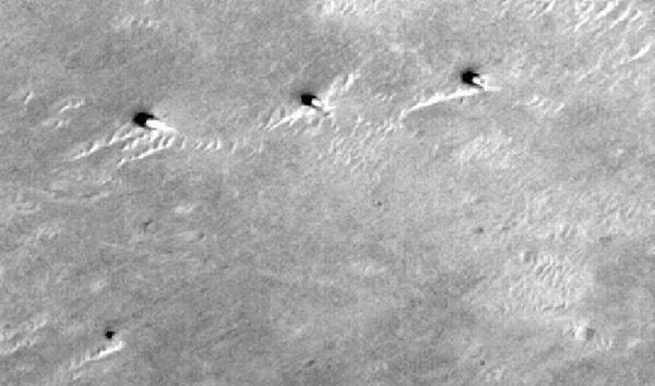 шесть башен на марсе