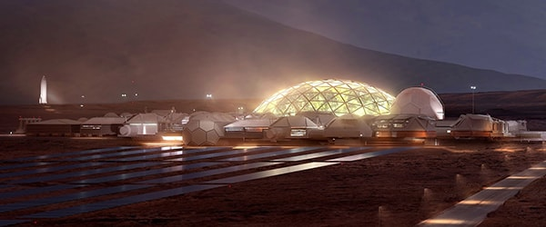 колонии на марсе