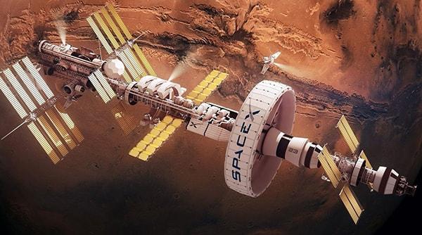 космические корабли покоряют марс