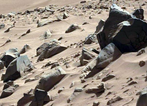 марсианская скульптура