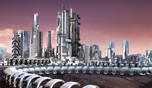 миллионный город марса