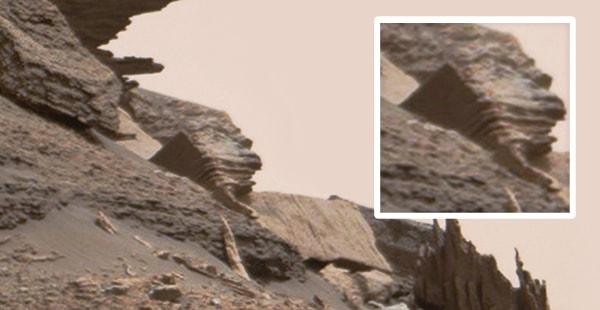 остатки здания на марсе